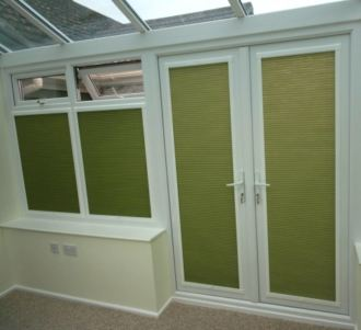 Pleated Window and Door